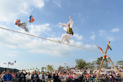 Anseong Matchum Namsadang Baudeogi Festival (6)