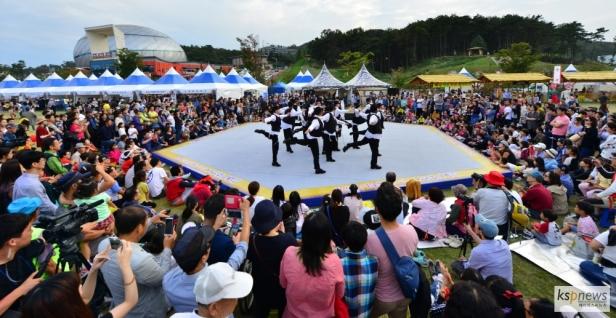 Anseong Matchum Namsadang Baudeogi Festival (8)