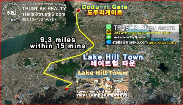 lake hill town-레이트힐 타운 위치