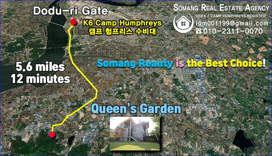 queen's garden location